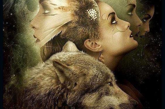 donna-con-lupo2