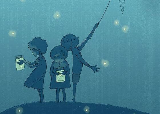 bambini-raccolgono-lucciole