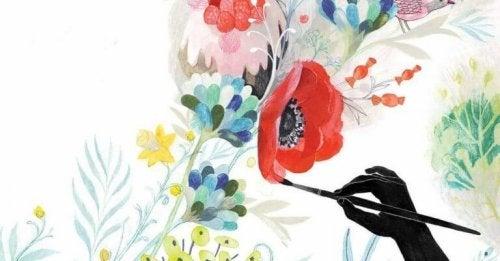 dipingere-fiori