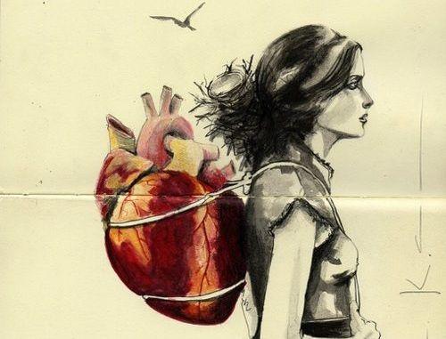 donna-con-cuore-sulle-spalle