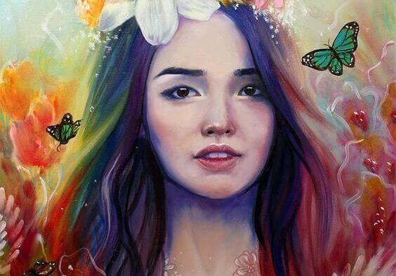 ragazza-con-farfalle