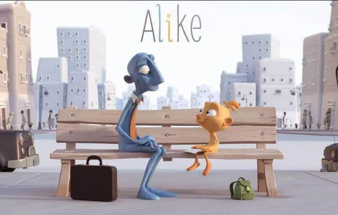 Alike: cortometraggio per riflettere sull'importanza della creatività nei bambini
