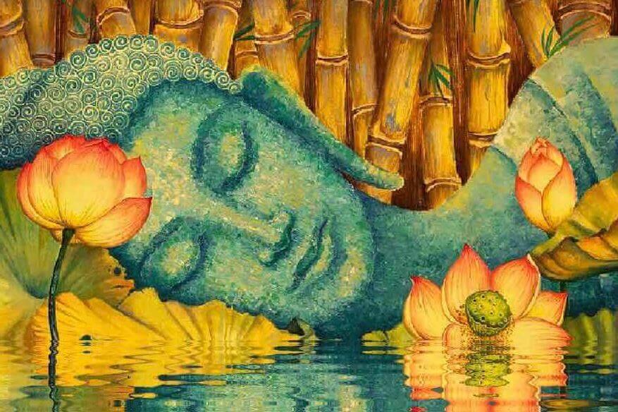 buddha-in-un-lago