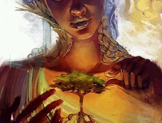 donna-che-tocca-un-albero