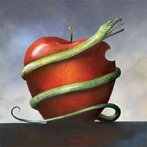 mela-del-peccato-con-serpente