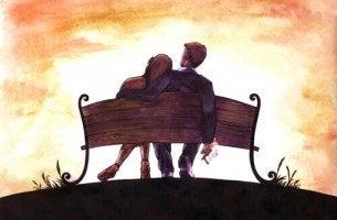 coppia-panchina dall'amore