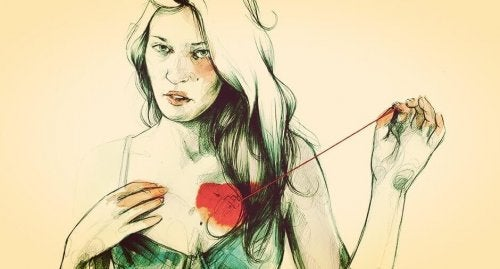 donna-cuce-il-cuore