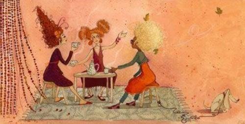ragazze-bevono-caffe