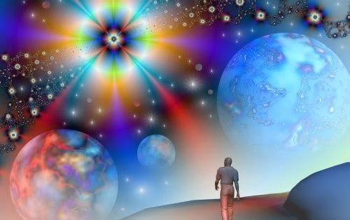 uomo-cammina-in-universo-psichedelico
