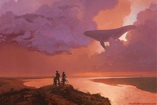 Per volare in alto, la vita ci libera di alcuni bagagli