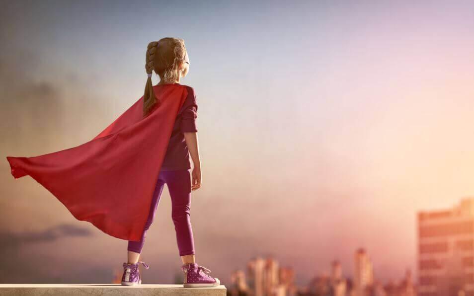 E se insegnassimo alle bambine ad essere coraggiose e non perfette?