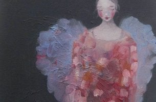 donna dipinta