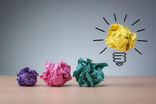 fogli di carta lampadina ridurre l'ansia