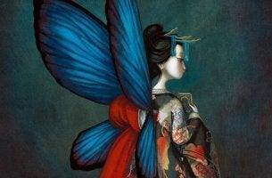 farfalla vuole volare