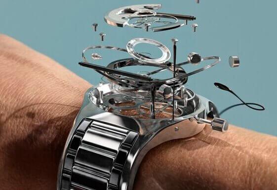 orologio segna tempo
