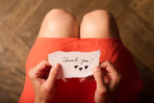 3 esercizi per allenare la gratitudine