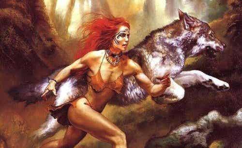 In ogni donna vive una lupa