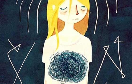 Quel nodo allo stomaco, il buco nero dell'ansia