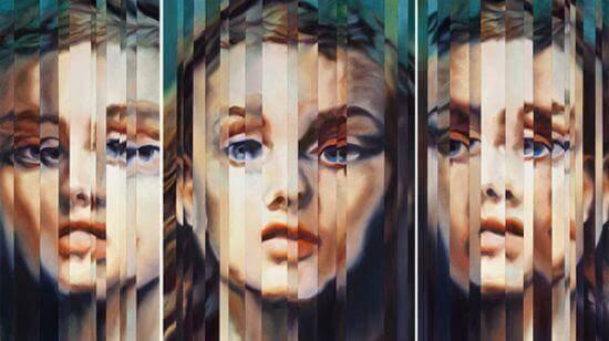 diversi volti di persona con disturbo dipendente di personalità