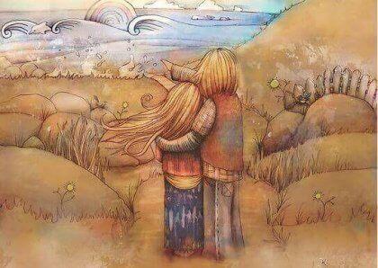 L'affetto perfetto per amarsi