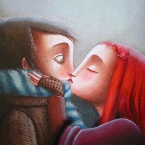 L'affetto perfetto tra una coppia