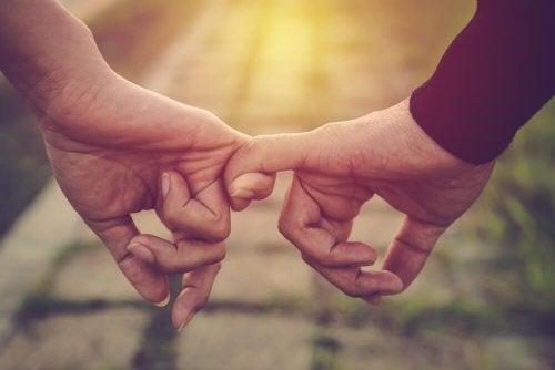 L'affetto perfetto tra uomo e donna