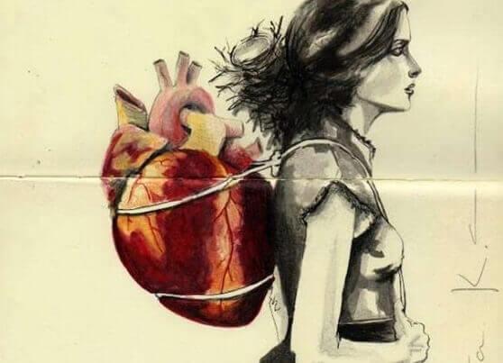 donna con cuore
