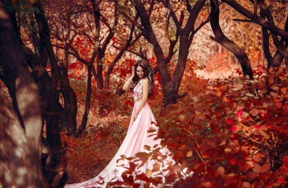 principessa che si salvò da sola nel bosco