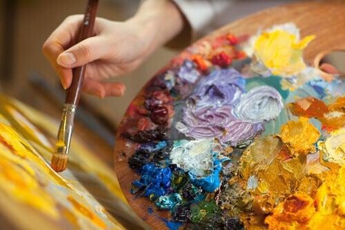 Tavolozza per dipingere
