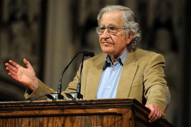 La mia famiglia non conosce Noam Chomsky