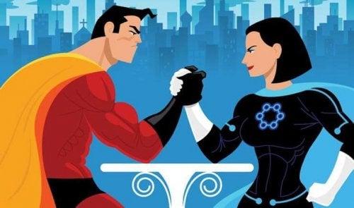 Supereroi uguaglianza
