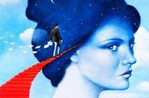 Uomo entra dentro la testa di una donna come gestire una persona narcisista