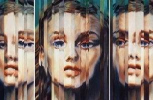 Donna che sperimenta la dissociazione