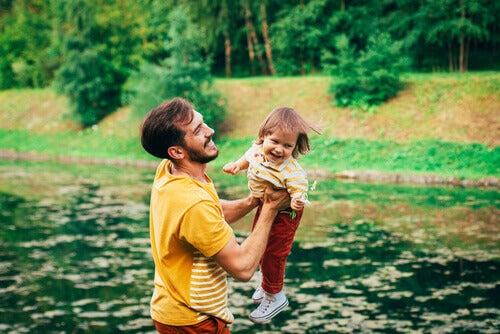 Papà e bambina