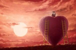Coppia che costruisce un amore sano