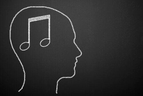 Nota musicale nel cervello