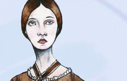 Ritratto Emily Dickinson