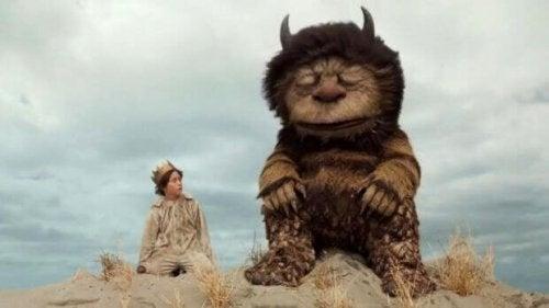Scena del film Nel Paese delle Creature Selvagge