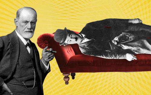 Sigmund Freud e Charlie Chaplin