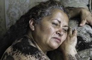 La signora Luz Marina, madre di Soacha