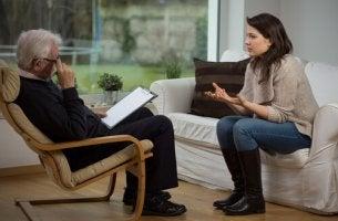 Seduta dallo psicologo