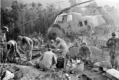 Soldati guerra del Vietnam