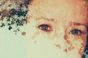 Donna con prosopagnosia