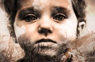 Bambino con trauma transgenerazionale