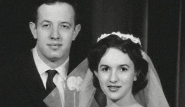 John Nash e la moglie