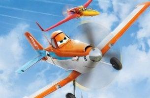 Aereo arancione del film Planes