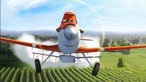 Aereo arancione di Planes