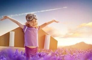 Bambina con ali le insegnerai a volare
