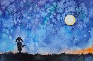 La bambina che scoprì la sua luce interiore