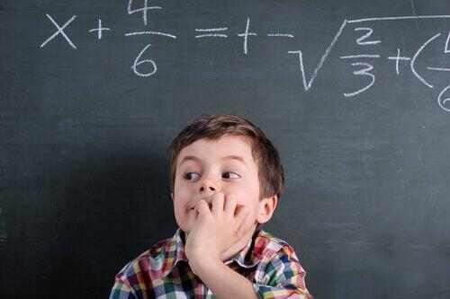 Bambino e matematica